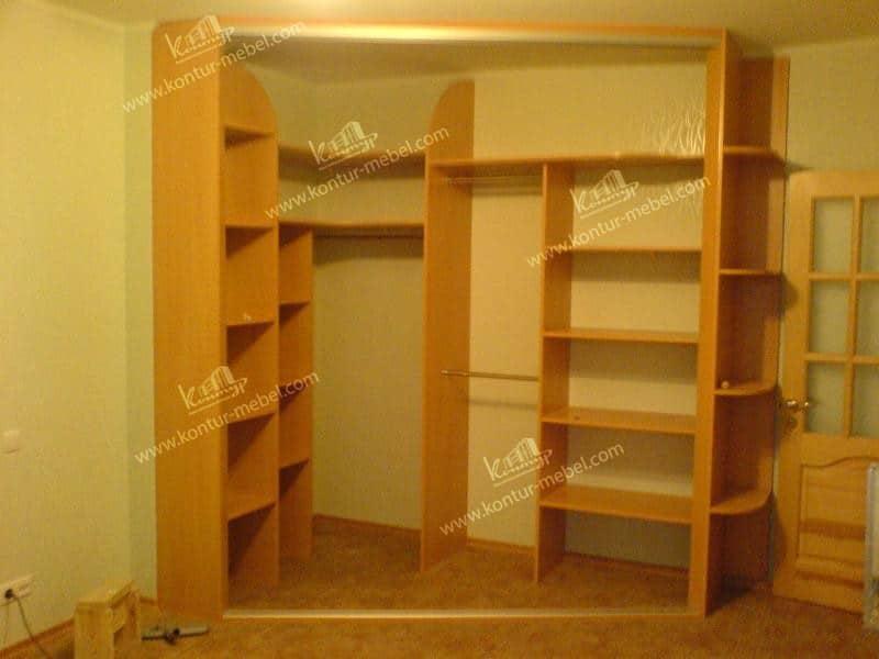 """Встроенные шкафы в пензе - мебельная фабрика """"контур""""."""