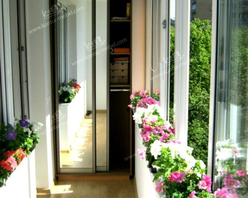 Шкаф на балконе: как красиво сделать своими руками, фото с в.