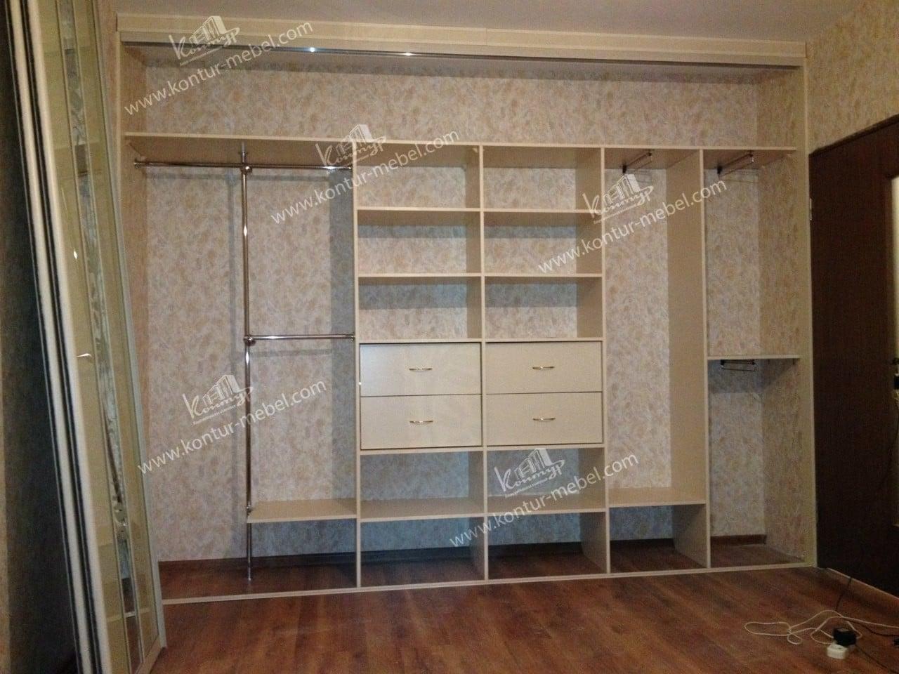 Мебель своими руками в встроенный шкаф
