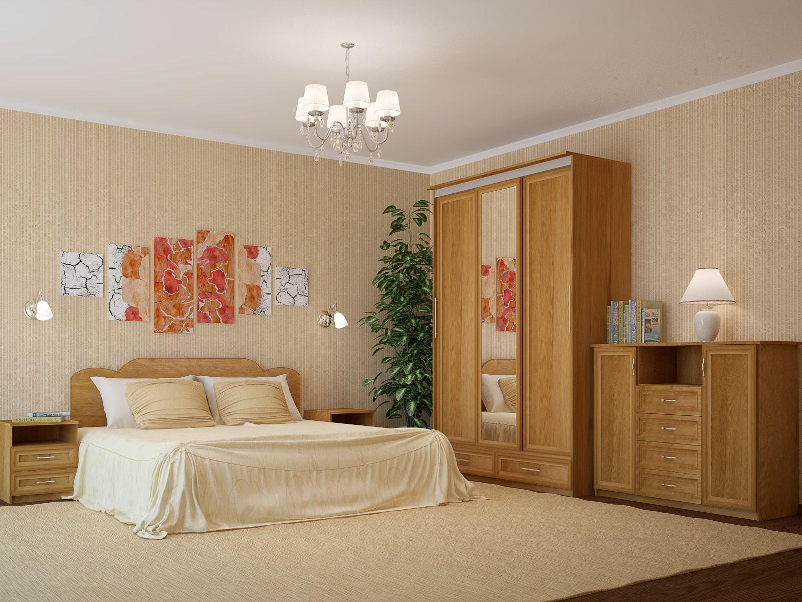 Спальня ЛДСП (модульная 1)