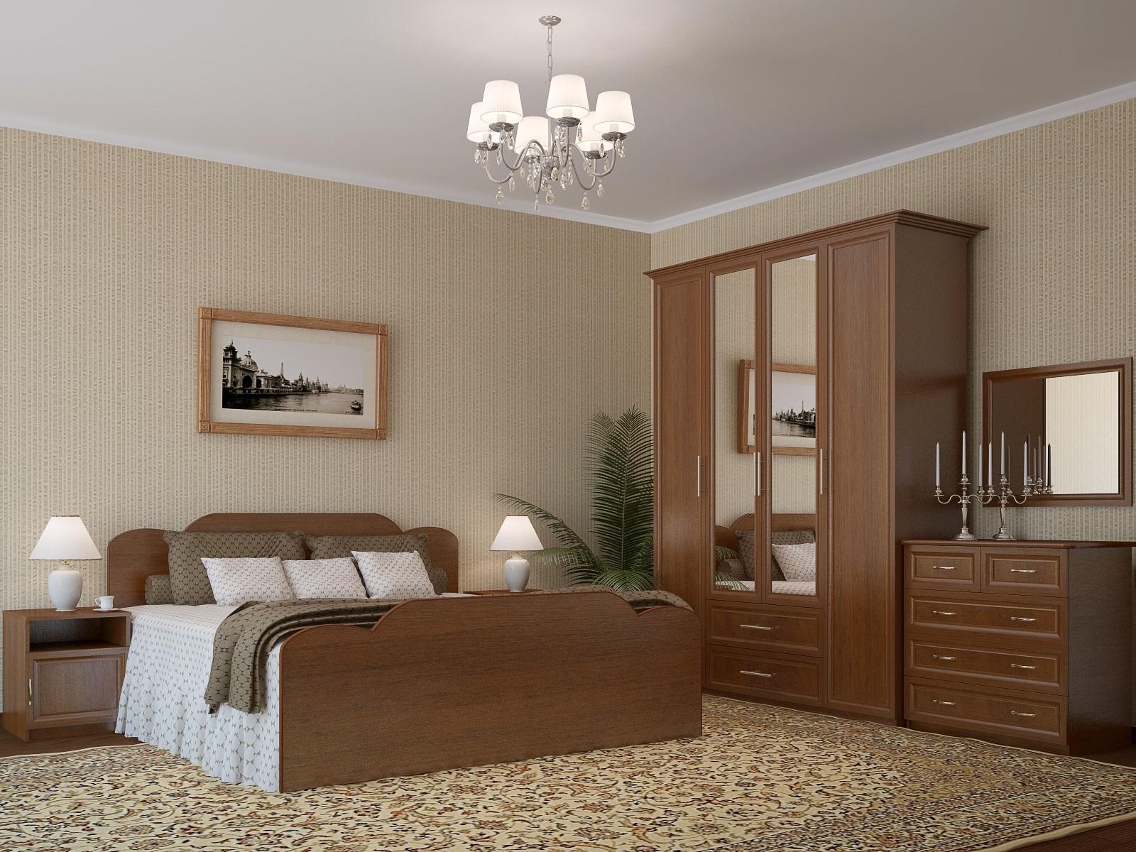 Спальня ЛДСП (модульная 2)