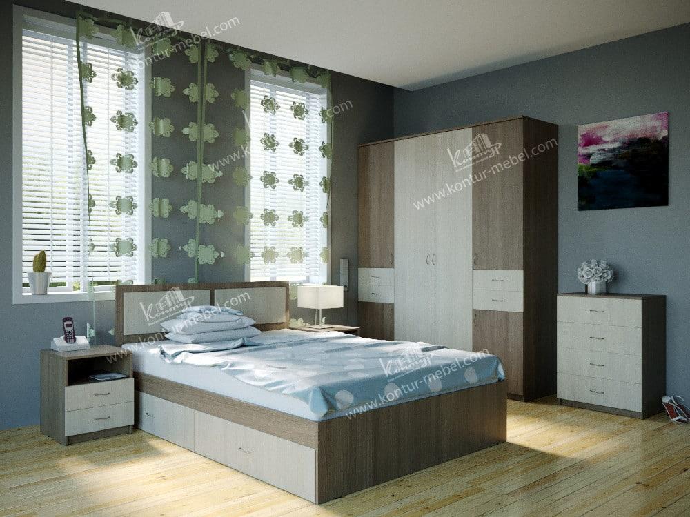 Спальня ЛДСП (модульная 4)