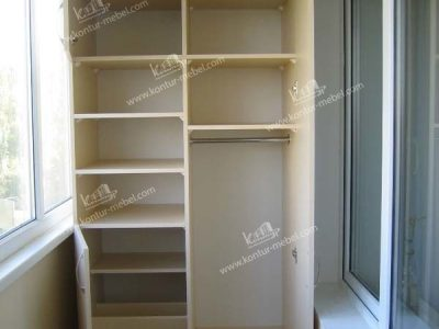 "Шкафы на балкон на заказ - мебельная фабрика ""контур""."