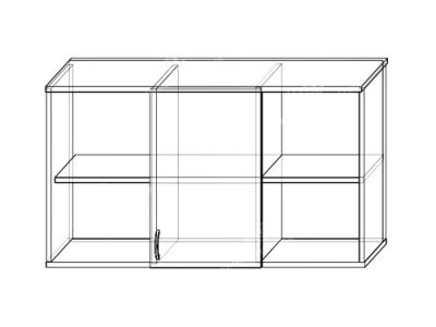 Антресоль 4 (ширина-1,23м, глубина-0,35м, высота-0,65м)