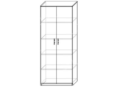 Шкаф 10 (ширина-0,8м, глубина-0,4м, высота-2,1м)