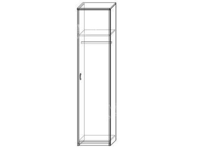 Шкаф 17 (ширина-0,5м, глубина-0,5м, высота-2,1м)