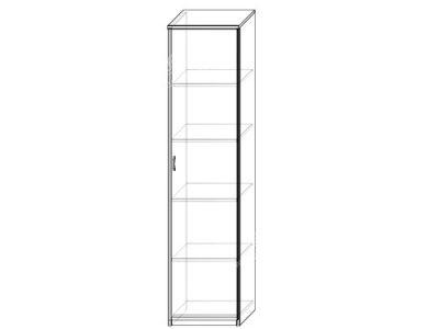 Шкаф 6 (ширина-0,5м, глубина-0,4м, высота-2,1м)