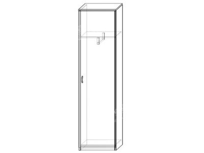 Шкаф 7 (ширина-0,5м, глубина-0,4м, высота-2,1м)