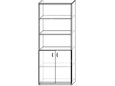 Шкаф 8 (ширина-0,8м, глубина-0,4м, высота-2,1м)