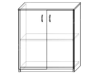 Шкаф-тумба 15 (ширина-0,8м, глубина-0,4м, высота-0,89м)